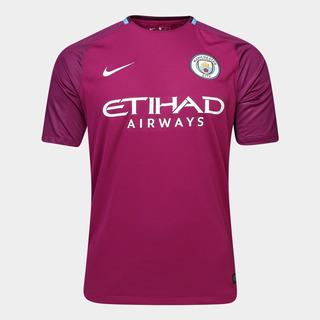 Camisa Manchester City Away 17/18 S/n° - Torcedor Nike