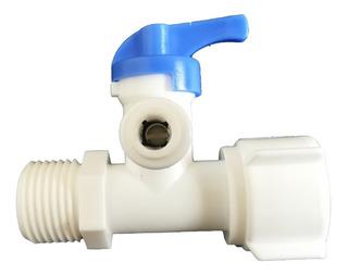 Llave De Entrada 1/2 X 1/2 X 1/4 Repuesto Para Filtro Agua
