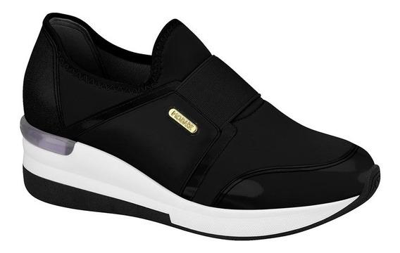 Zapatillas Mujer Sin Cordones Modare Plataforma Negra 733611
