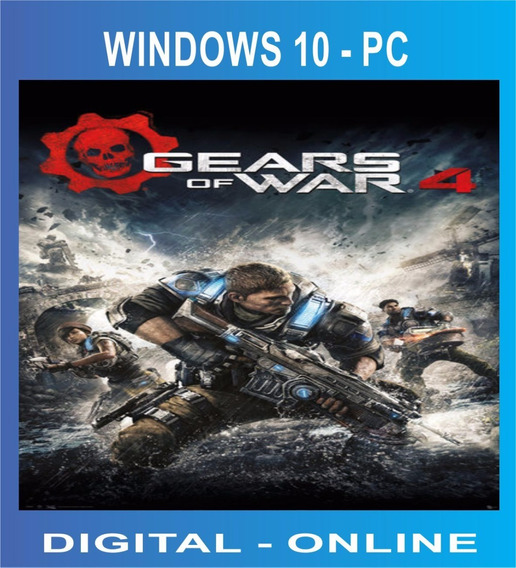 Gears Of War 4 - Windows 10 Pc - Gears 4 Original Jogue On