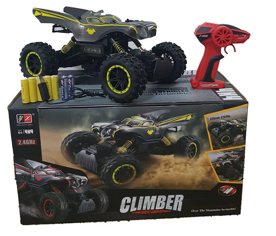 Carrinho Batman Jeep 4x4 Climber 1:10 Cross-coutry Rc