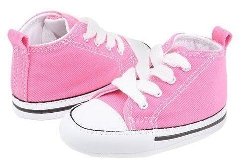 Converse Kids Chuck Taylor Core Ox Pink Tenis Bebe Niña Niño
