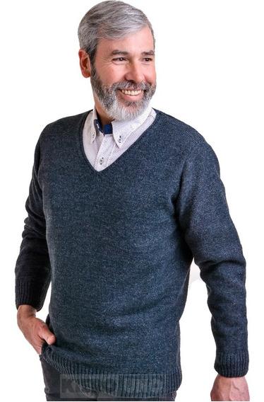 Sweater Hombre Saco Escote V Vestir Pullover Kierouno