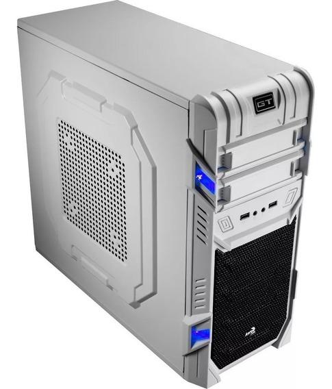Gabinete Gamer Barato Aerocool En52230 Advance White