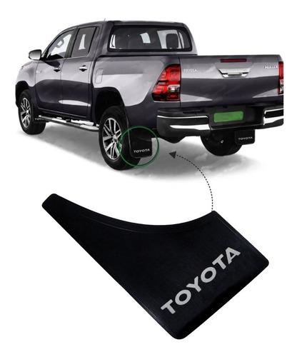 Juego X 4 Barreros Goma Toyota Hilux ( Delanteros + Traseros )