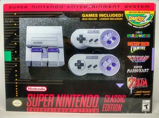 Consola Super Nintendo Classic Edition Snes Mini