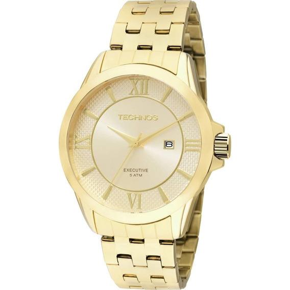 Relógio Masculino Technos Classic Executive 2115kos4x
