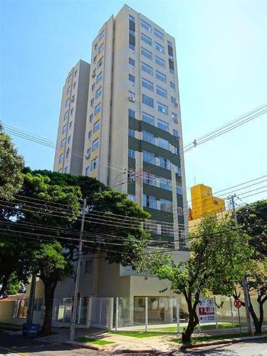 Imagem 1 de 28 de Apartamento Mobiliado Para Locação Com 1 Quarto, Cozinha Planejada. Edifício Com Piscina, Espaço Gourmet E Academia, Em Maringá-pr - Ap0199