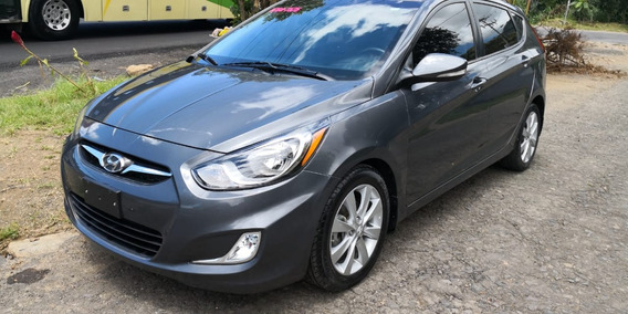 Hyundai Accent Blue Hatckback Modelo 2013 Impecable