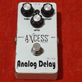 Pedal Analog Delay Giannini Axcess True Bypass Ambiência