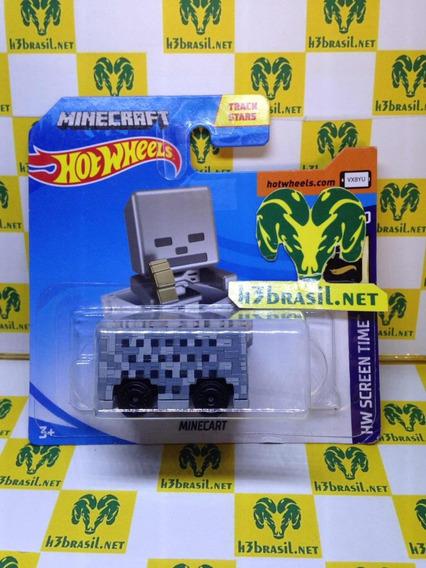 Bx407 Hot Wheels Game Jogo Minecraft Minecart Screen H3br