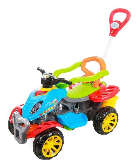 Carrinho De Passeio Infantil Empurrador Pedal Criança Color