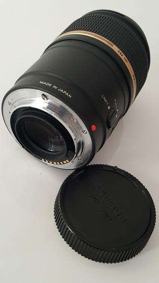 Lente Tamron 90mm F/2.8 Di Sp Af Macro Sony/minolta Lens
