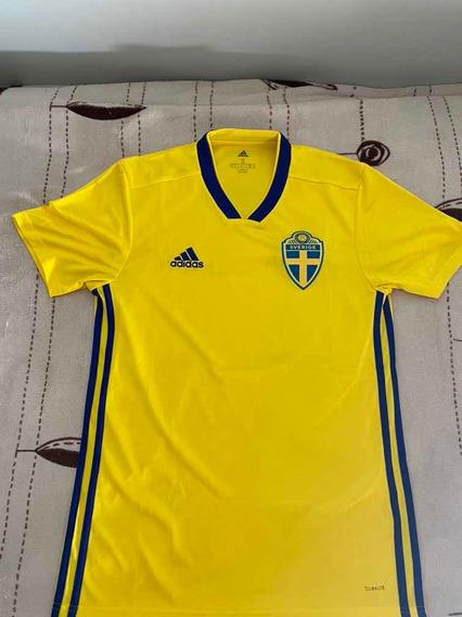 Camiseta Suecia 2018