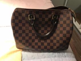 Bolsa Louis Vuitton Speedy 30 Damier Ebene Original