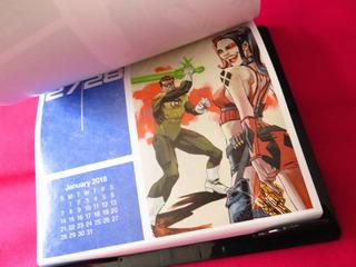 Calendario 2018 Portadas Dc Comics Batman Superman Flash