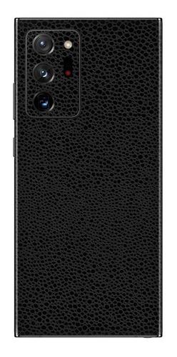 Imagem 1 de 1 de Película Skin Galaxy Note 20 Ultra Kingshield 3d Couro-preto