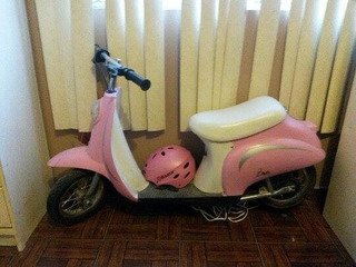 Una Scooter Para Niña,