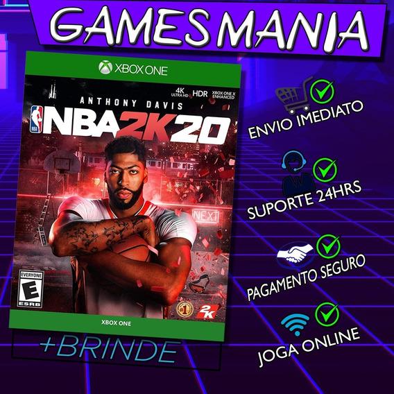 Nba 2k20 Xbox One + 2 Brindes