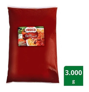 Pasta De Tomate Fruco Bolsa X 3000 Grs - g a $17