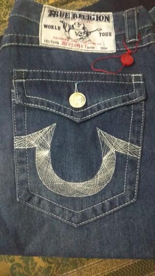 Lote De 2 Pantalon-jeans True Religion T-34 Solo Diciembre