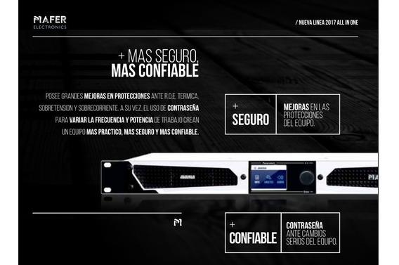 Transmisor Fm Avania 250w Estereo Y Procesado Homologado