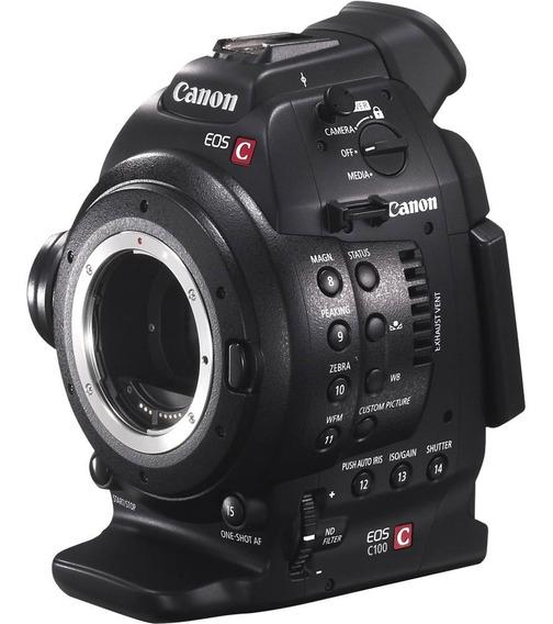 Canon C100 Dual Pixel + Bateria Extra
