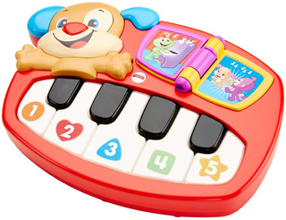 Fisher-price Laugh Learn Puppy Piano Juguete Bebes