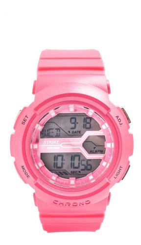 Reloj Strike Watch Resina M1138a-0ggx-rdrd Mujer Original