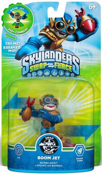 Boneco Skylanders Swap Force Boom Jet Nintendo Wii E Wii U