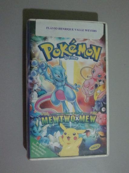 Fita Vhs Pokémon - O Filme - Mewtwo X Mew
