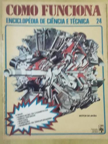 Pl163 Revista Fasc Como Funciona Nº24 Motor De Avião