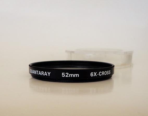 Filtro Quantaray 52 Mm 6x-cross