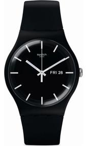Relógio Swatch Mono Black - Suob720