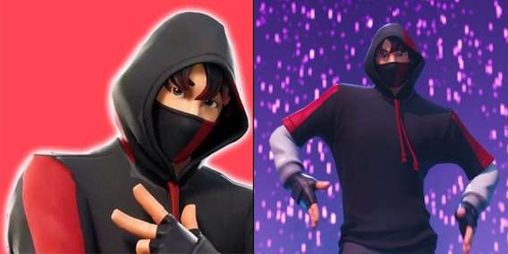 Fortnite Skin Do Ikonik Galaxy S10 - Envio Imediato