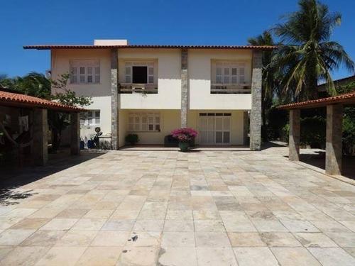 Imagem 1 de 14 de Imóvel Desocupado, Apto A Receber Visitas! Casa Duplex Com 4 Quartos(3 Suítes) À Venda, 705 M² Por R$ 3.000.000 - Cumbuco - Caucaia/ce - Ca0286