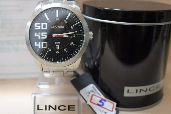Relógio Lince Mrm4269s-p2sx Masculino Análogo Com Calendário