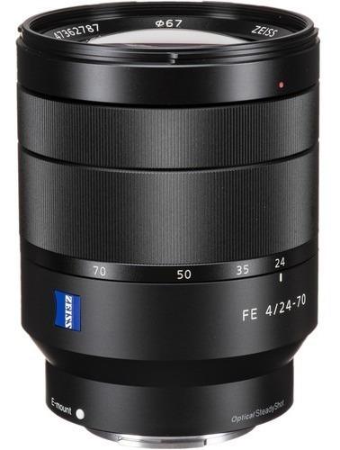 Lente Sony T* Fe 24-70mm F/4 Za - Sel2470z - Loja Platinum