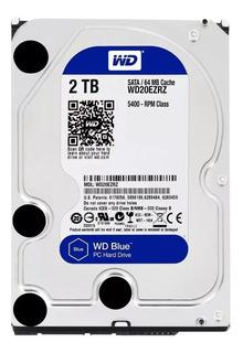 Disco Rigido 2tb Wd Western Digital Caviar Blue Sata 3 Envio