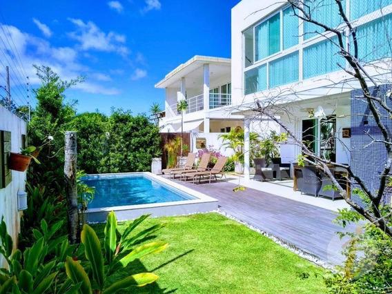 Casa Com 4 Dormitórios À Venda, 400 M² Por R$ 2.000.000,00 - Altiplano Cabo Branco - João Pessoa/pb - Ca1542
