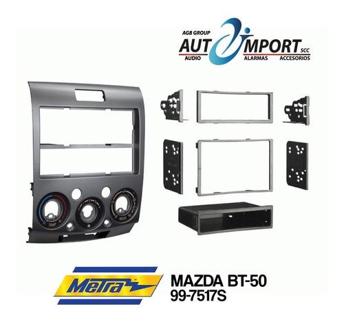 Adaptador De Radio Mazda Bt-50 1din/2din Metra