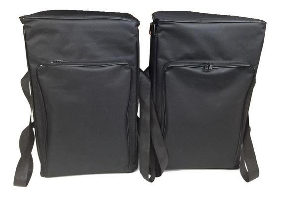 Bag Para Caixa De Som Rcf Art 310a (par) + Fbt Xlite 10(par