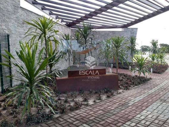 Lote À Venda No Condomínio Vilas Do Lago, 300 M², Financia - Lagoa Redonda - Fortaleza/ce - Te0103