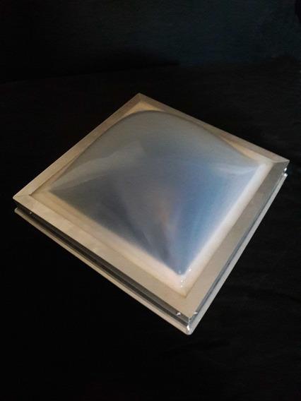 Domo Acrilico De 60cm X 60cm Color Perla