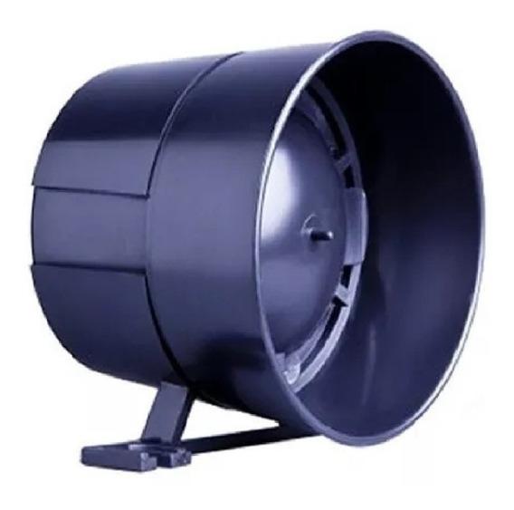Sirene Taty Morey Light Preta 115 Db 12 Volts 150 Ma