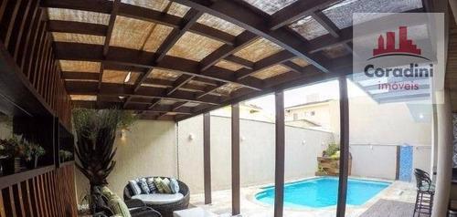 Imagem 1 de 12 de Casa Residencial À Venda, Jardim Residencial Parque Da Floresta, Sumaré. - Ca1048