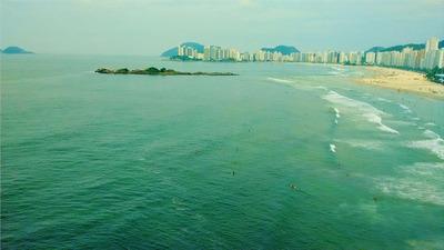 Ref.: 1141 - Apartamento Em Guaruja, No Bairro Pitangueiras - 3 Dormitórios
