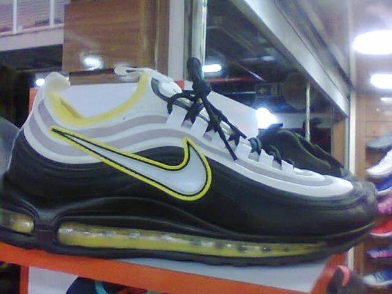 Tenis Nike Air Max 98 Preto E Amarelo Nº38 Ao 43 Original