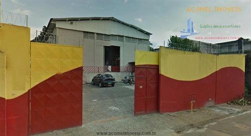 Imagem 1 de 3 de Galpões Para Alugar  Em Santana De Parnaiba/sp - Alugue O Seu Galpões Aqui! - 1354218