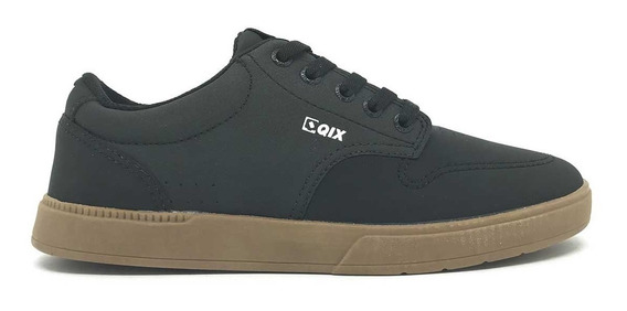 Tenis Qix Base Preto Natural 109831/35